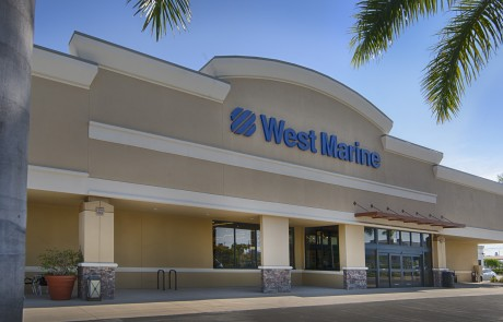 West Marine - Ada's Natural Market- Part of College Plaza at US 41 & College Parkway in Fort Myers, which also includes Radio Shack, Tijuana Flats, Five Guys, Pet Supermarket, West Marnie, Bank United and Mattress Inc.