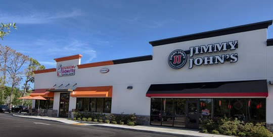 Jimmy John's - Conveniently located across from SWF College at College Parkway & Whiskey Creek Blvd. in Fort Myers, which includes Dunkin Donuts and 7-Eleven.