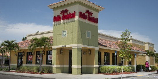 Pollo Tropical- Located in Clarion Plaza on US 41 in Fort Myers, FL and includes Wawa, Sleep Number, Culver's and Chipotle.