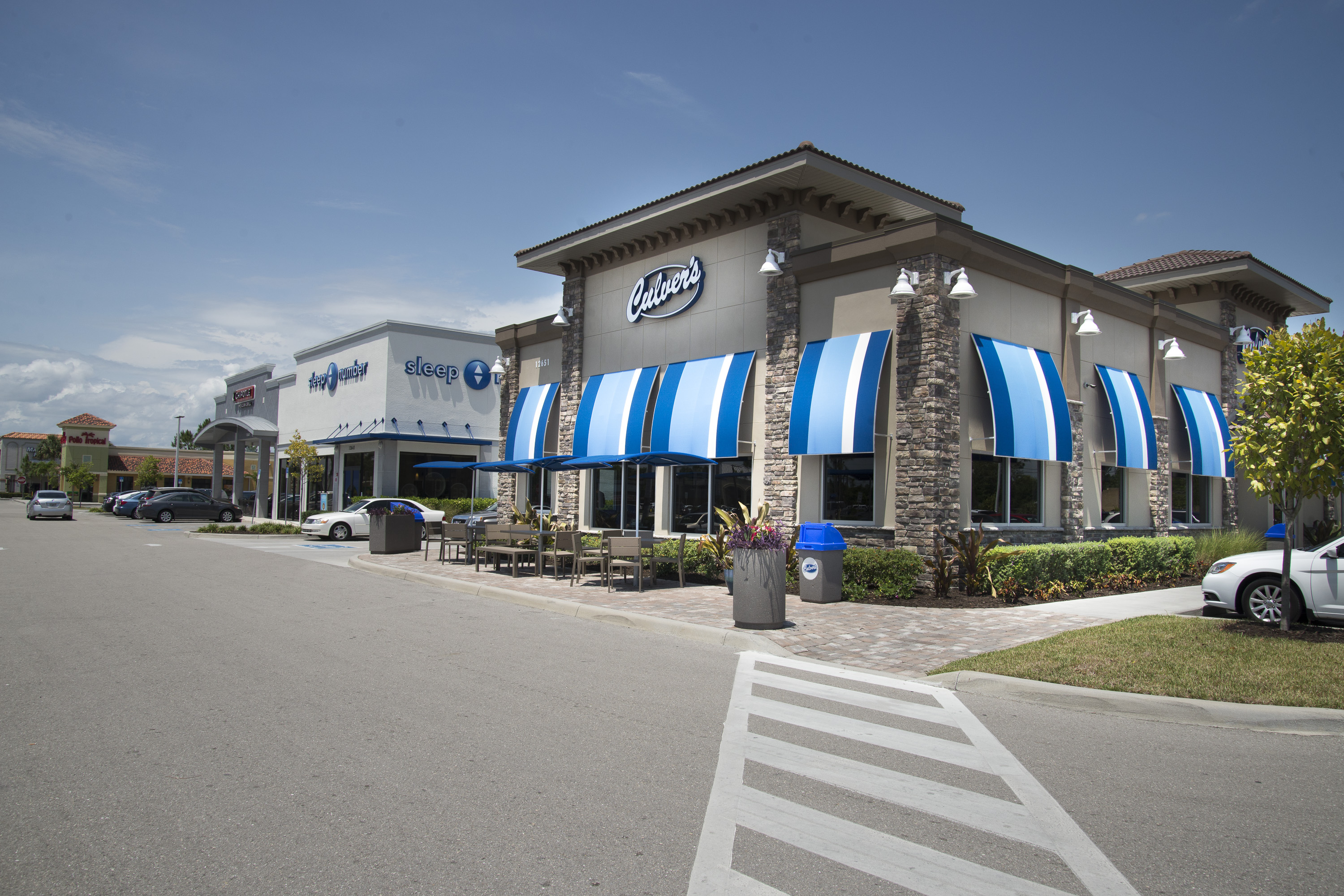Culver's - Constructed 8 grand opening locations with even more locations to come.