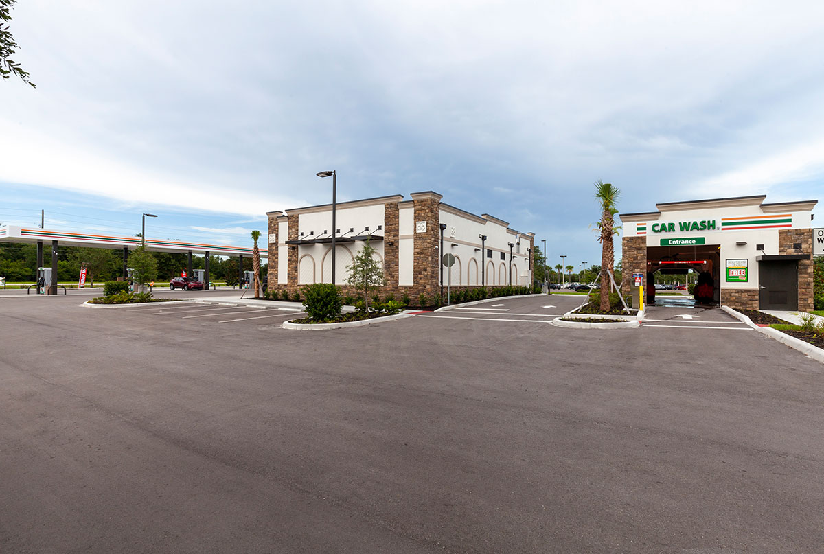 7-Eleven in Spring Hill, Florida Carwash Image by Creighton Development