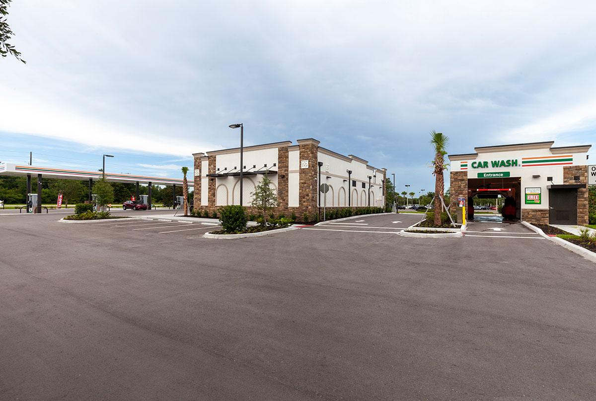 7-Eleven in Spring Hill, Florida Carwash Image by Creighton Development