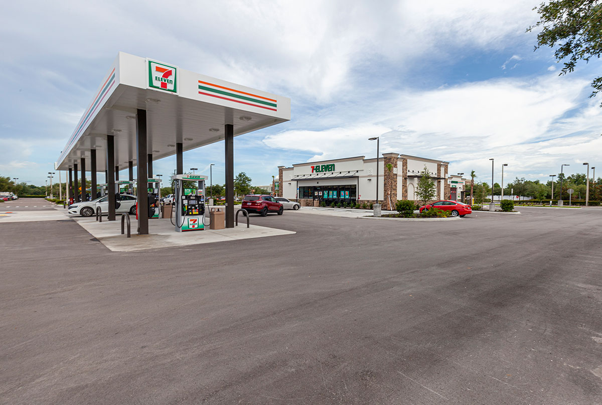 7-Eleven in Spring Hill, Florida by Creighton Development
